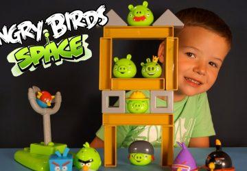 Новые летающие игрушки Angry Birds уже продаются